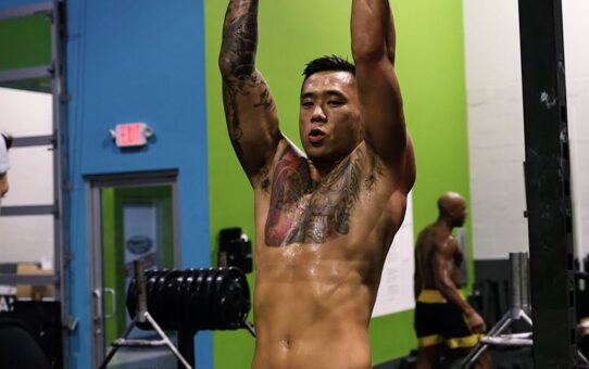 Martin Nguyen Goes BEAST MODE Training With Aung La N Sang