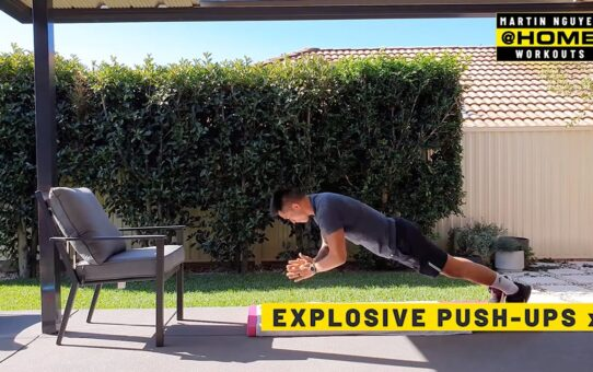 Martin Nguyen's 6 Home Workouts To Stay Shredded | ONE@Home
