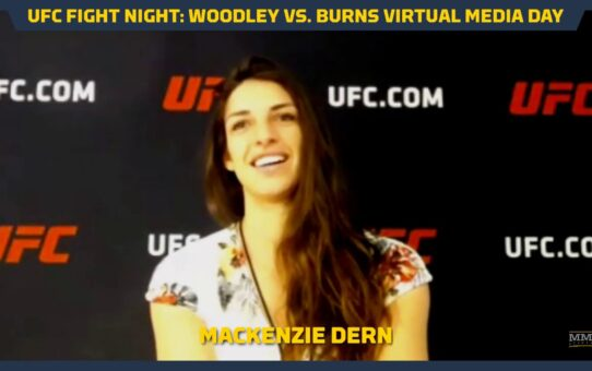 UFC on ESPN 9 Mackenzie Dern Wants Opponents to Respect Her Standup – MMA Fighting