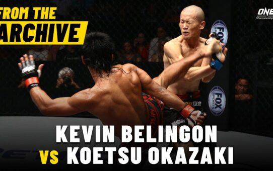 Kevin Belingon vs. Koetsu Okazaki | ONE Championship Full Fight | December 2014