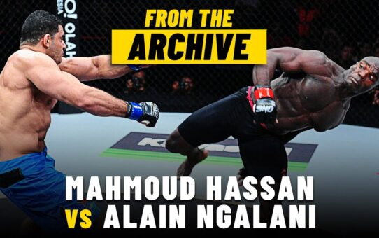 Alain Ngalani vs. Mahmoud Hassan | ONE Championship Full Fight | September 2013