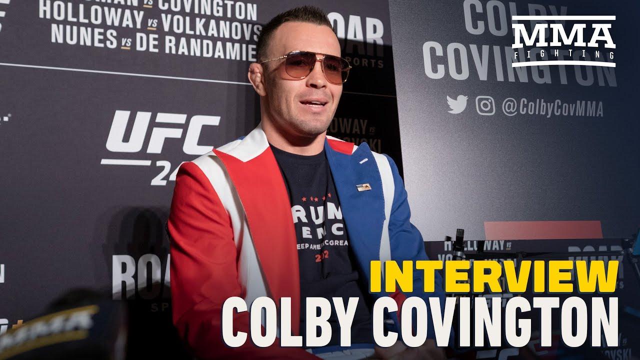 Colby Covington Rants on WWE star Drew McIntyre, Tyron Woodley and Jorge Masvidal - MMA Fighting
