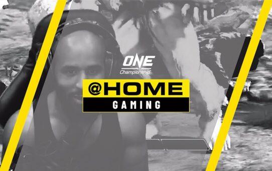 Demetrious Johnson vs. Martin Nguyen | ONE@Home Gaming – Street Fighter V: Champion Edition