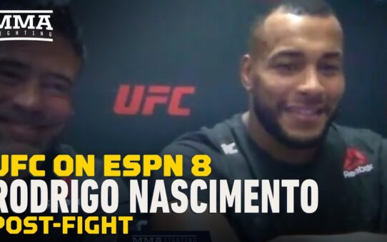 Rodrigo Nascimento Calls Chase Sherman 'Perfect Matchup' For UFC Follow-Up – MMA Fighting