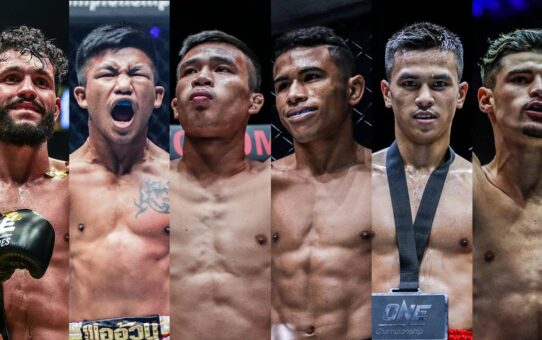 ONE Championship Official Rankings   Top 5 Kickboxing Flyweights