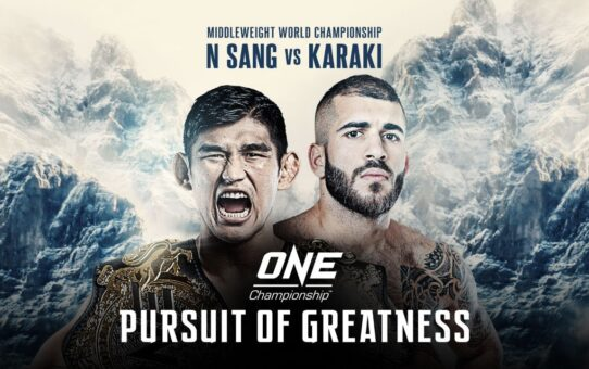 ONE Championship: PURSUIT OF GREATNESS | ONE@Home Event Replay