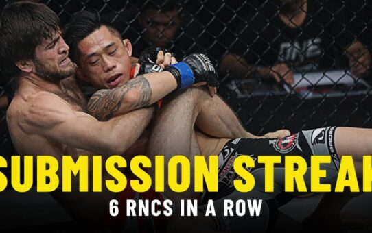 ONE Championship's CRAZIEST Submission Streak