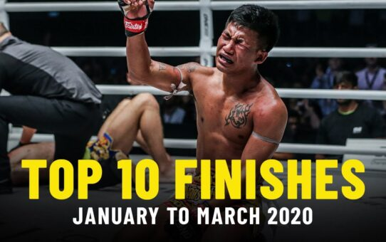 ONE Championship's Top 10 Finishes Of 2020 So Far