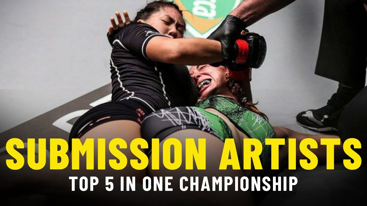 ONE Championship's Top 5 Submission Artists