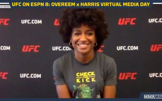 UFC on ESPN 8: Angela Hill Would Love to Break Record and Fight Seven Times In A Year – MMA Fighting