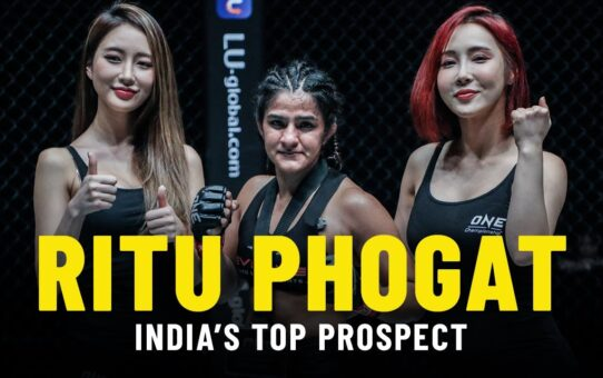 Ritu Phogat: India's Top Mixed Martial Arts Prospect