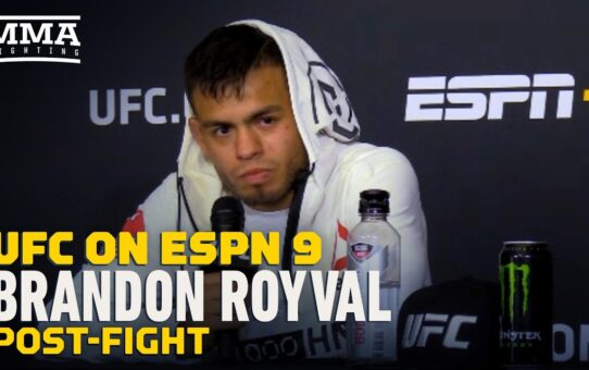 UFC on ESPN 9: Brandon Royval Dreads Return to Work at Juvenile Detention Center – MMA Fighting