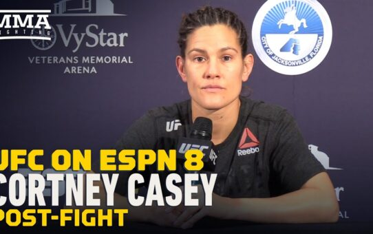 UFC on ESPN 8: Cortney Casey Eyes Another Top-15 Opponent, Quick Turnaround – MMA Fighting