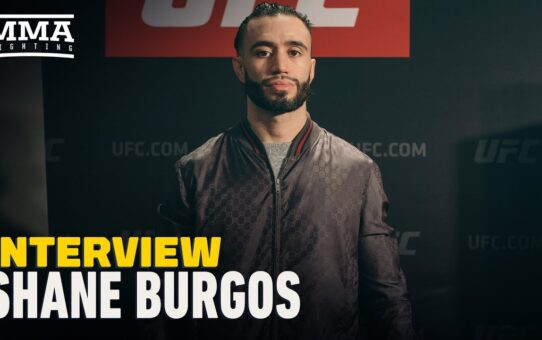 Shane Burgos Plans to Return Next Month, Recaps UFC 249 – MMA Fighting