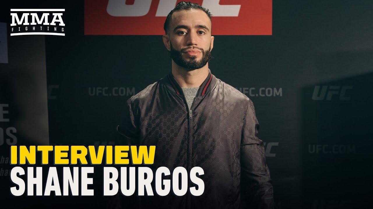 Shane Burgos Plans to Return Next Month, Recaps UFC 249 - MMA Fighting