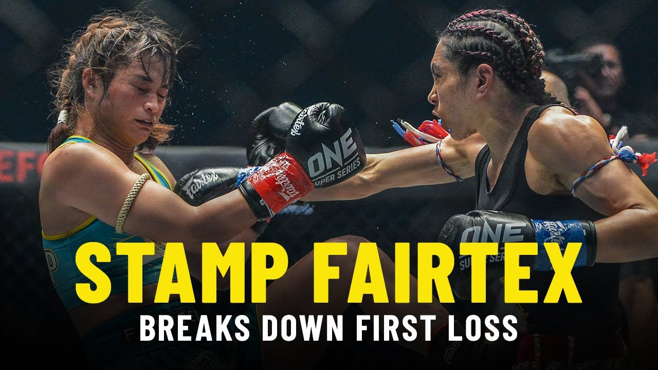 Stamp Fairtex Fight Look-Back | First ONE Championship Loss