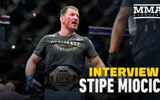 Stipe Miocic Tells Daniel Cormier and Other Critics to 'Stop Crying'