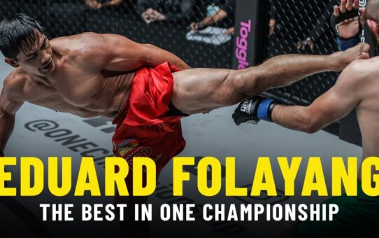 The Best Of Eduard Folayang In ONE Championship