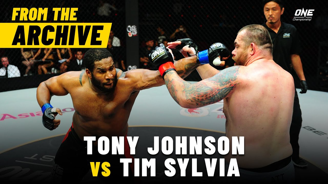 Tony Johnson vs. Tim Sylvia | ONE Championship Full Fight | May 2013
