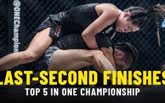 Top 5 Last-Second Finishes In ONE Championship