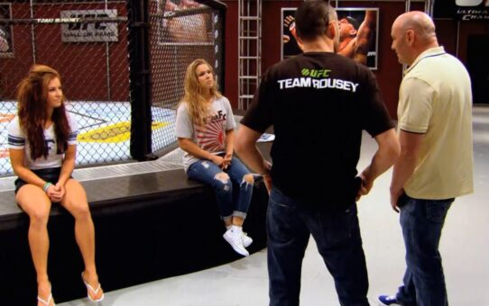 TUF Moments: Miesha Tate steps in to coach against Ronda Rousey