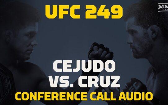 UFC 249 Conference Call: Henry Cejudo vs. Dominick Cruz – MMA Fighting