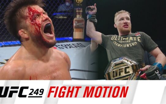 UFC 249: Fight Motion