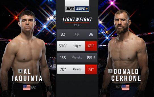 UFC 249 Free Fight: Donald Cerrone vs Al Iaquinta