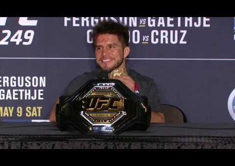 UFC 249: Henry Cejudo Post-fight Press Conference