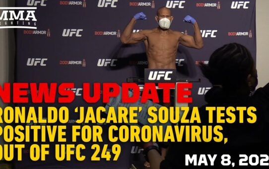 UFC 249: 'Jacare' Souza Positive COVID-19 Test Reaction – MMA Fighting
