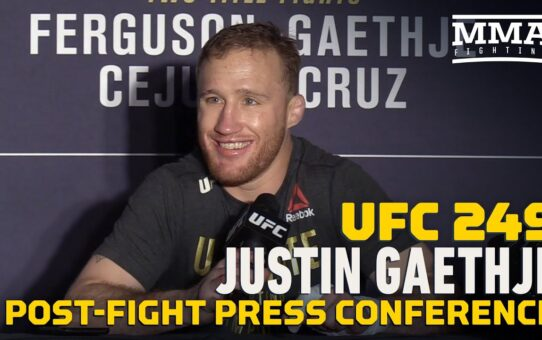 UFC 249: Justin Gaethje Post-Fight Press Conference – MMA Fighting