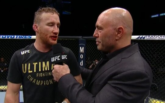 UFC 249: Justin Gaethje & Tony Ferguson Octagon Interviews