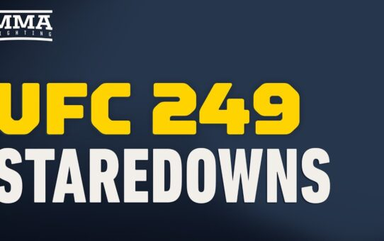 UFC 249: Staredown Live Stream- MMA Fighting