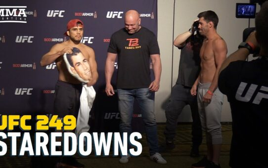UFC 249 Weigh-In Staredowns – MMA Fighting