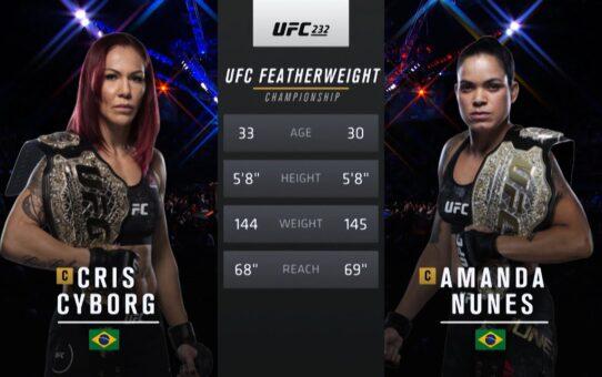 UFC 250 Free Fight: Amanda Nunes vs Cris Cyborg