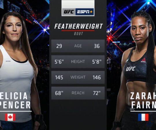 UFC 250 Free Fight: Felicia Spencer vs Zarah Fairn Dos Santos
