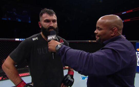 UFC Jacksonville: Andrei Arlovski Octagon Interview