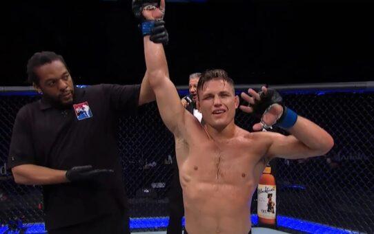 UFC Jacksonville: Drew Dober Octagon Interview