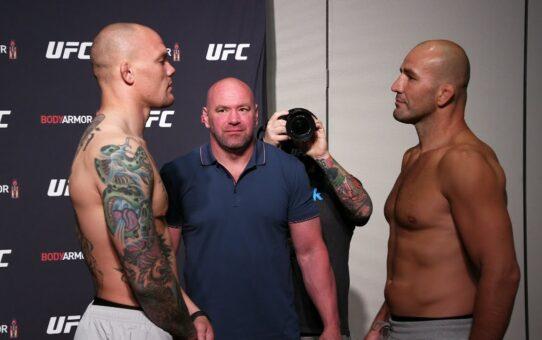 UFC Jacksonville: Weigh-in Faceoffs