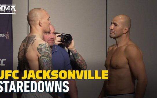 UFC Jacksonville Weigh-In Staredowns – MMA Fighting