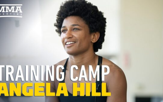 UFC on ESPN 8: Inside Angela Hill's Training Camp – MMA Fighting