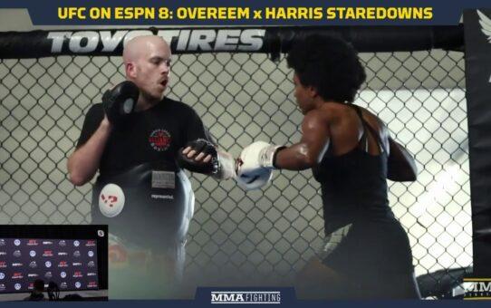 UFC on ESPN 8: Overeem vs. Harris Staredowns — MMA Fighting