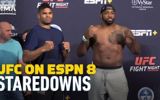 UFC on ESPN 8 Weigh-in Staredowns – MMA Fighting