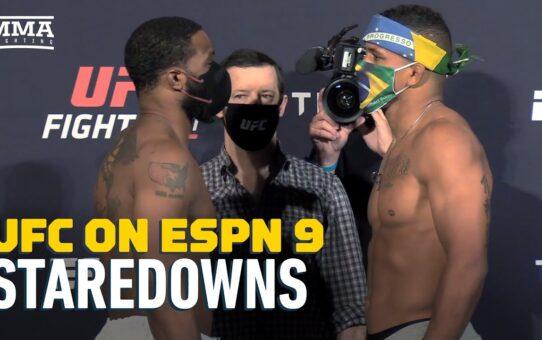 UFC on ESPN 9 Weigh-In Staredowns – MMA Fighting