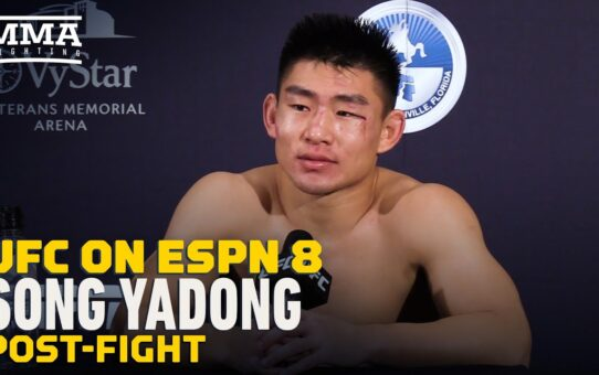 Song Yadong Talks About Visa Troubles That Nearly Scrapped UFC on ESPN 8 Fight – MMA Fighting