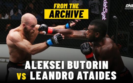 Aleksei Butorin vs. Leandro Ataides | ONE Championship Full Fight | September 2015