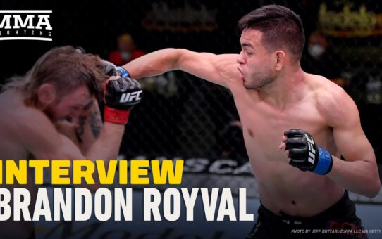Brandon Royval Still Salty About UFC on ESPN 9 Win, But Quit Day Job Afterward – MMA Fighting