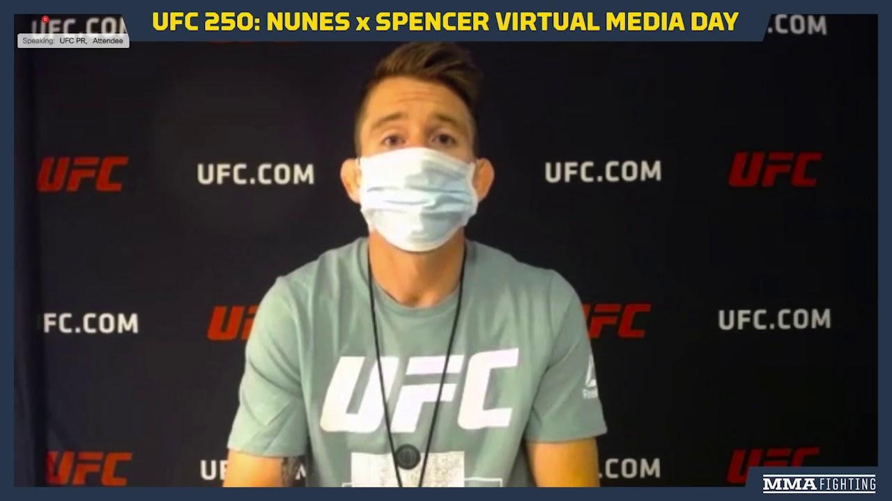 UFC 250: Corey Sandhagen Hopes to Fight Aldo vs. Yan Winner in Fall 2020 - MMA Fighting