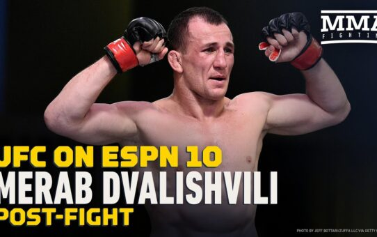 Merab Dvalishvili On Sean O'Malley: 'He Can Keep Smoking And I Can Keep Training' – MMA Fighting