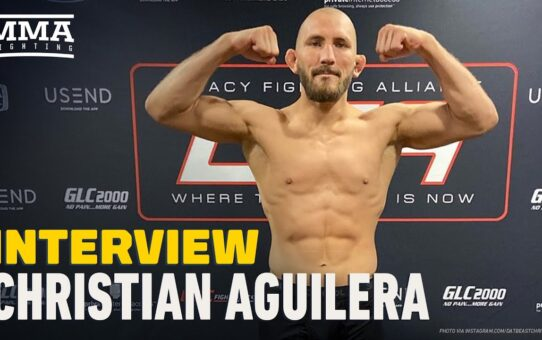 UFC on ESPN 10: Christian Aguilera Plans Spectacle in UFC Debut Against Anthony Ivy – MMA Fighting